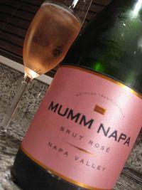Mumm brut rose