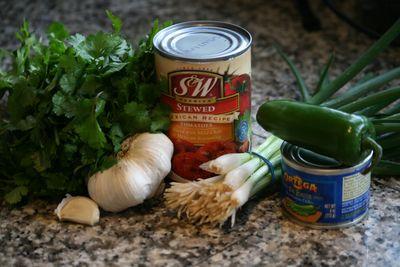 Salsa ingredients