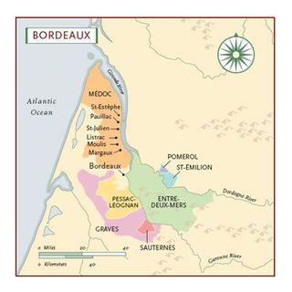 Bordeaux regions