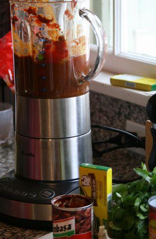 Revenge salsa blender