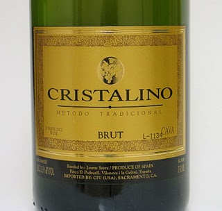Cristalino old label