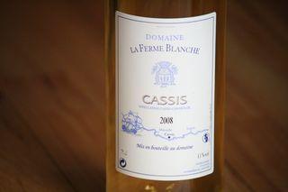 2008 Domaine La Ferme Blanche Cassis