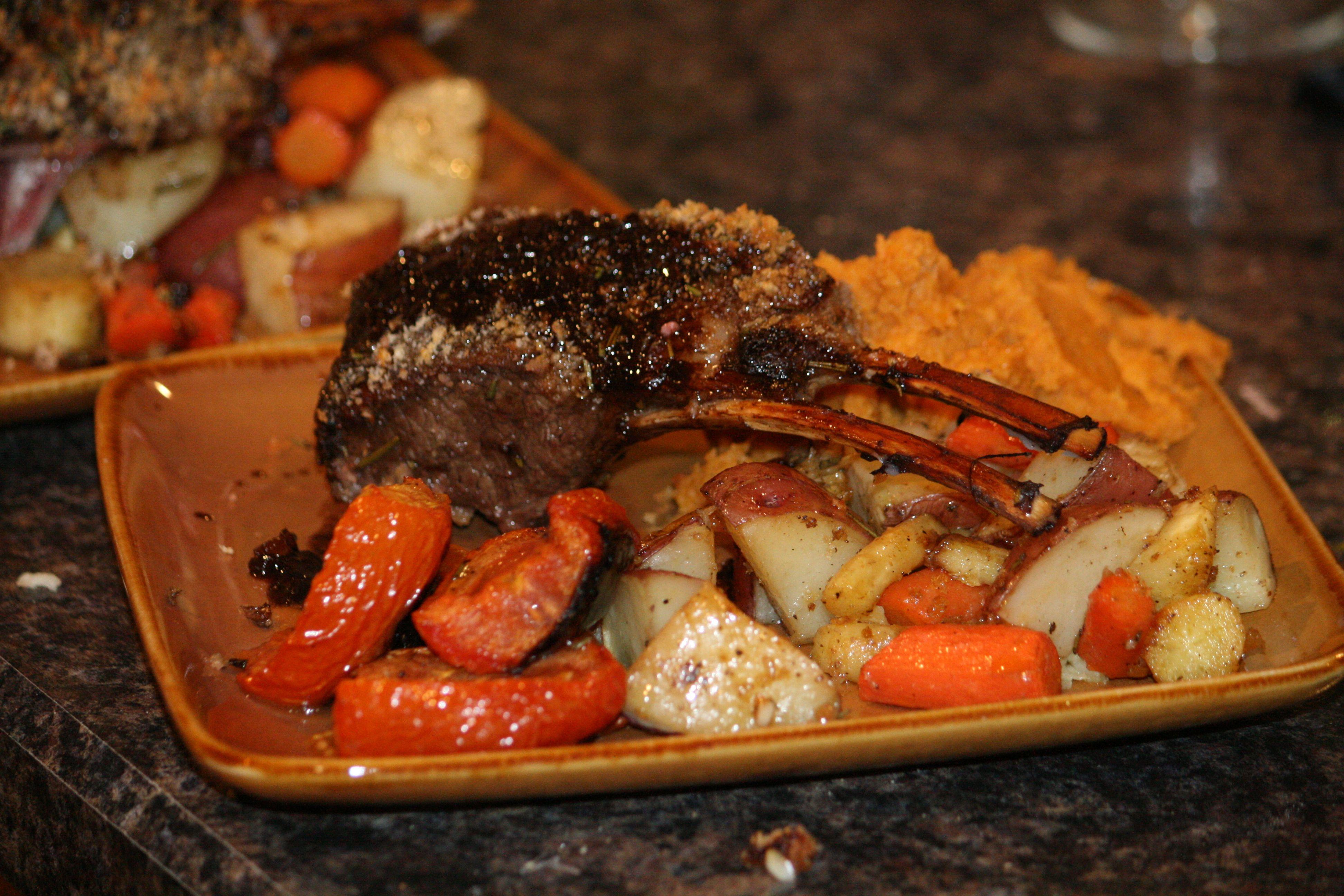 Quick & Simple Roasted Rack Of Lamb Recipes — Dishmaps